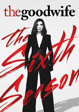 The Good Wife: The Sixth 6th Season (DVD, 2015, 6-Disc Set)   MINT Free Shipping