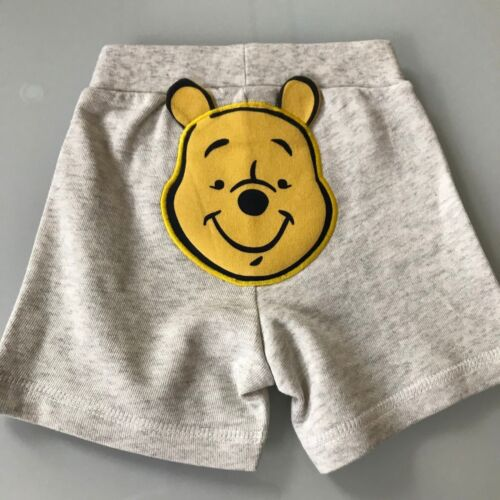 Baby Sommer Kurzehose Hose Mickey Mouse Winnie the Pooh Disney 100% Baumwolle