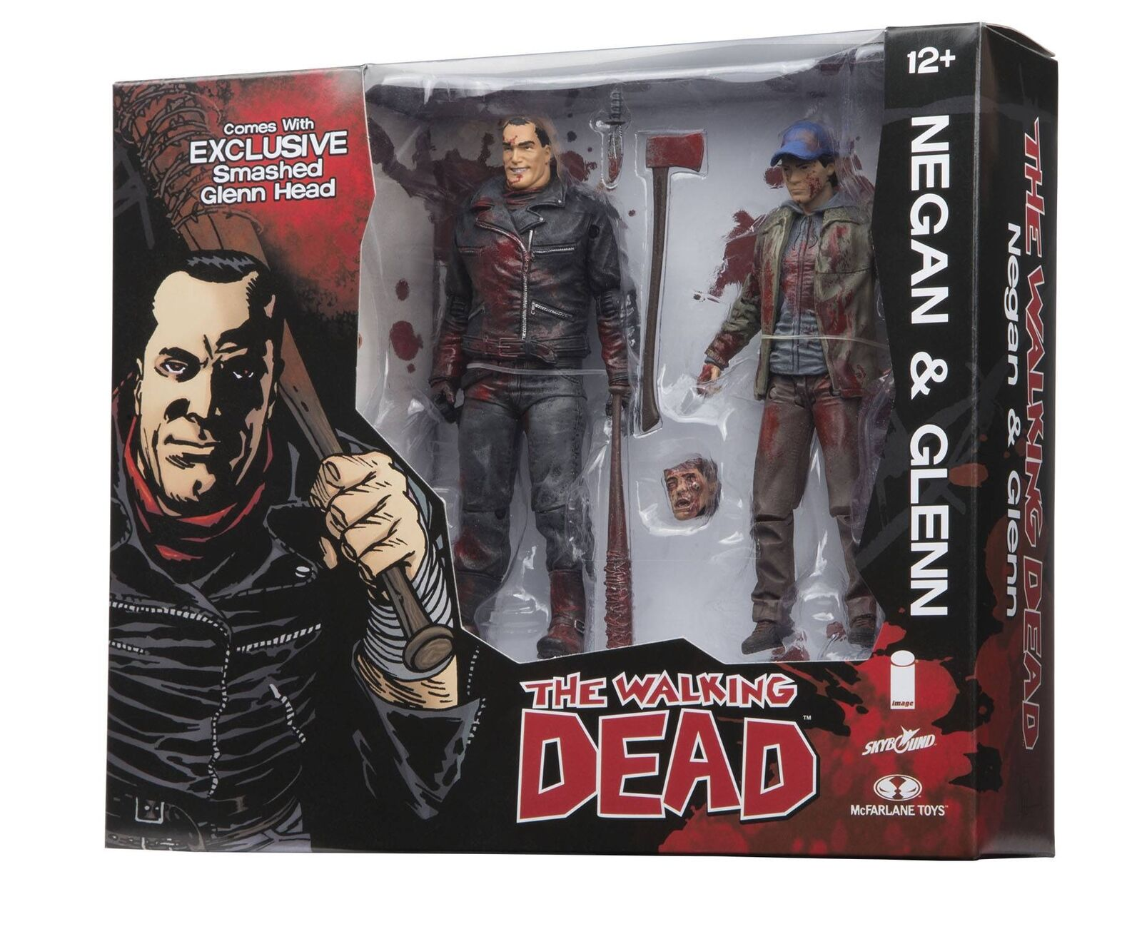 The Walking Dead Negan and Glenn Action Figure Set