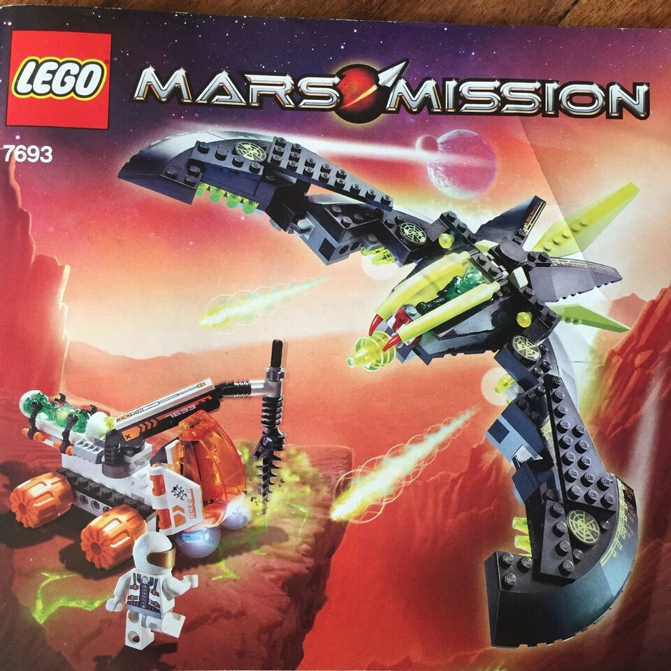 Lego Space, 7693