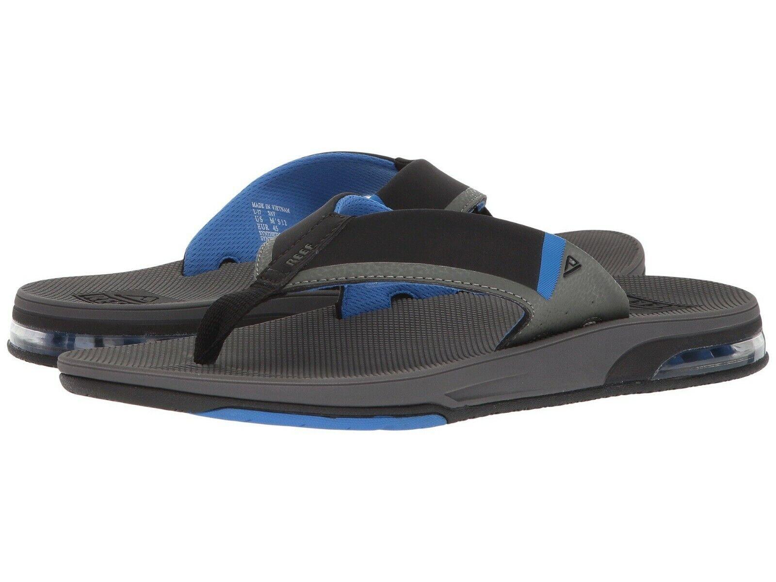 Men's shoes Reef FANNING LOW Flip Flop Sandals RF0A3KIH GREY   blueE