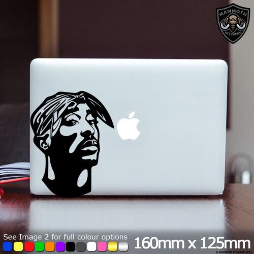 Tupac Laptop Sticker Art Decal 2 Pac 2Pac Shakur Fits Apple MacBook 13 Inch