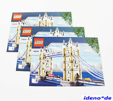 LEGO CREATOR Bauanleitung 10214 Tower Bridge London mit Zugbrücke NO PARTS