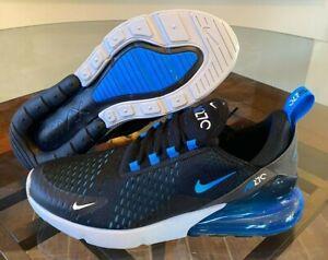 Nike Air Max 270 Blue Fury White Black Pure Platinum AH8050-019 Men's Sizes