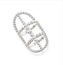 Genuine Thomas Sabo Silver Glam &Soul Dots Ring TR2047-001-12 Size 54N £125.00