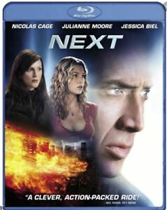 Next, Blu-ray, 2007 / Nicolas Cage / Julianne Moore ...