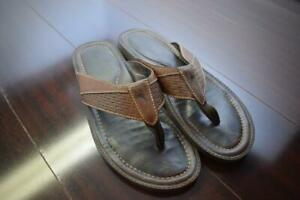 Mens-Tommy-Bahama-Shore-Brown-Sandals-Size-13-M