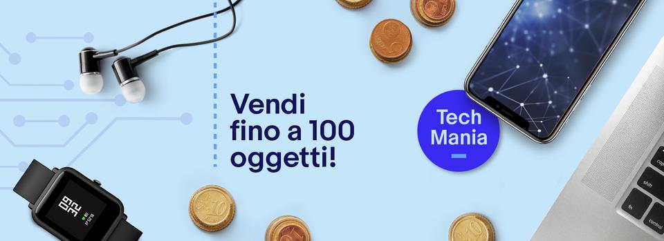 Accetta la promo - Mese del tech: vendi a soli 3€*!
