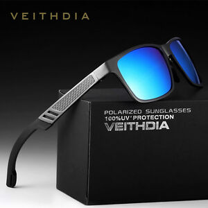 c6811ec55f Image is loading New-VEITHDIA-Men-039-s-Aluminum-Polarized-Sunglasses-