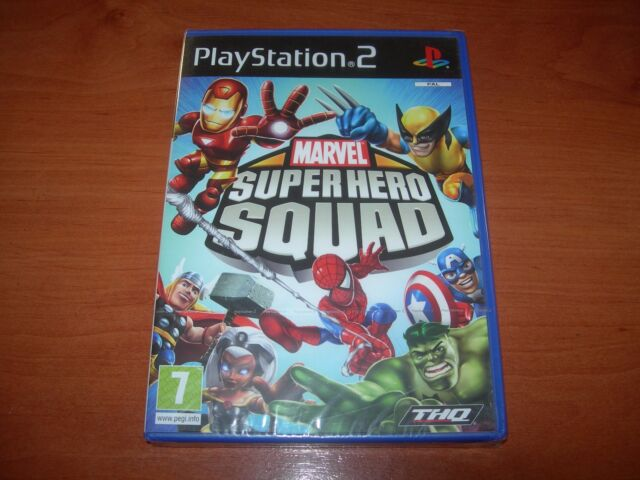MARVEL SUPER HERO SQUAD PS2 (PAL ESPAÑA PRECINTADO)