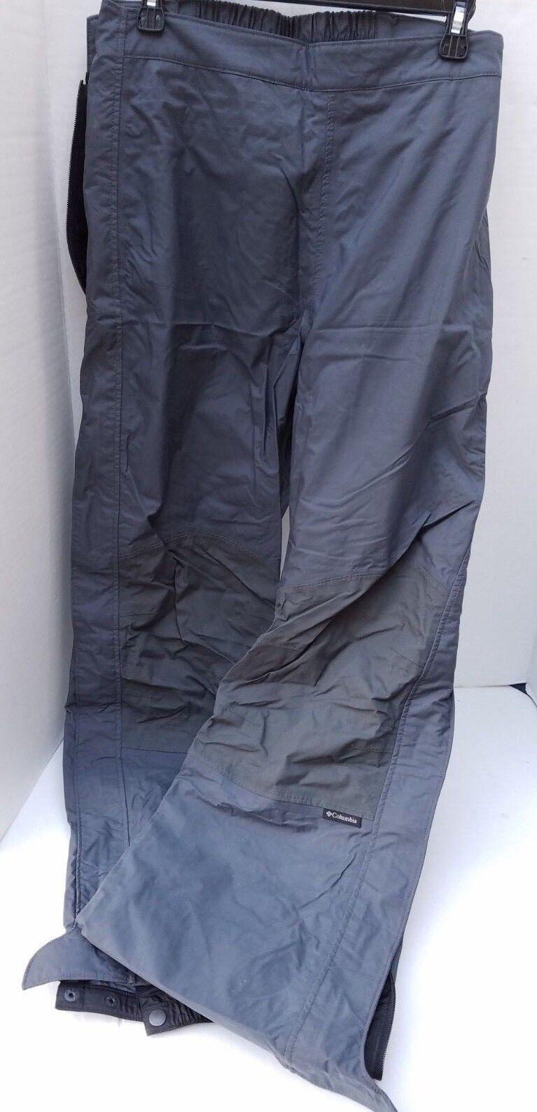 Columbia Omni-Tech Waterproof Snowboard Ski Pants  Winter Snow Womens Full ZIP L  supply quality product