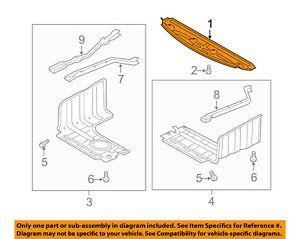 details about hyundai oem 11 15 sonata splash shield fr under radiator engine cover 291104r100  hyundai sonata engine cover diagram #13