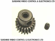 RC 21T Pinion Gear HSP HPI Tamiya 540 Electric Motors 48 Pitch 21 Tooth Steel