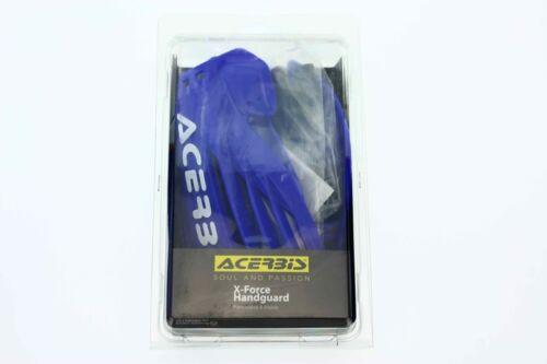 Acerbis Handprotektoren X-FORCE Motocross Enduro Paar inkl Anbaukit Blau