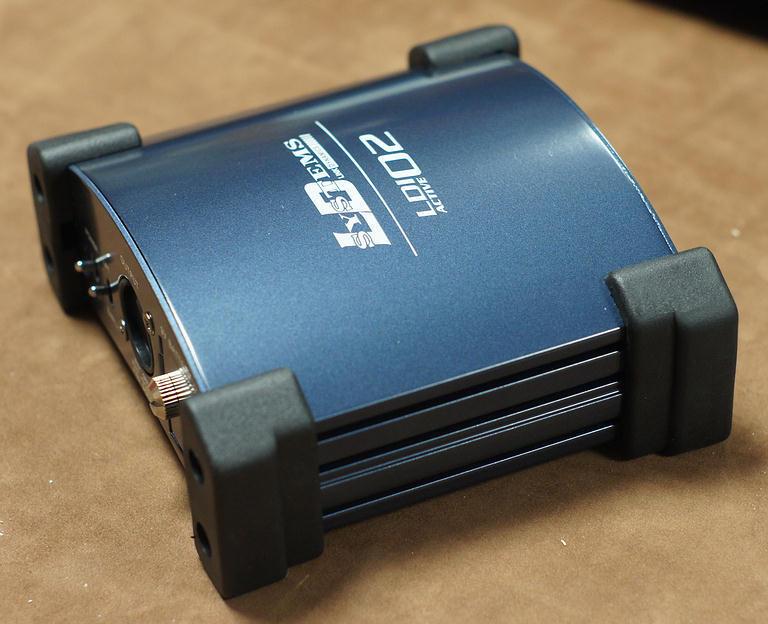 Boitier boite de direct active qualité DI box de haute qualité active 24a595