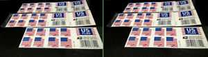 USPS US Flag Forever Stamps - 10 Booklets of 20 Stamps = 200 stamps