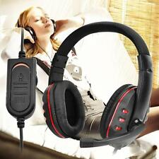 Universal 3.5mm Wired Pro Gaming Headset Headphone w/ MIC For WII PS4 XBOX One