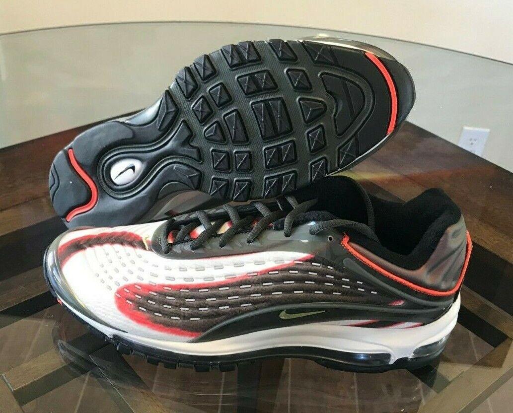 180 Nike Men's Air Max Deluxe OG Sequoia Camper Green shoes AJ7831-300 Size 10