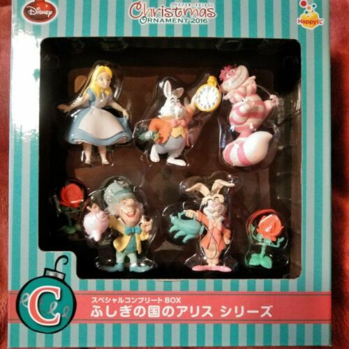 Disney Alice in Wonderland Christmas Ornament 2016 Complete Box