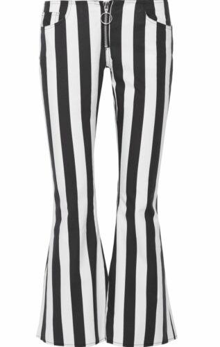 BNWT righe Almeida Uk10 Pantaloni a Esausto Marques in corti cotone Taglia wqxAf0Y