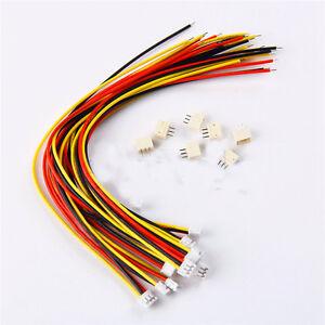 Micro JST ZH 1.5 mm 3-poligen JST-Stecker-Stecker mit Draht Kabel ...