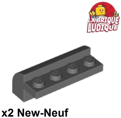 2x Lego Ziegel geändert 2x4x1 1/3 gebogen dunkelgrau/d b gray 6081 neu Lego Baukästen & Konstruktion LEGO Bausteine & Bauzubehör