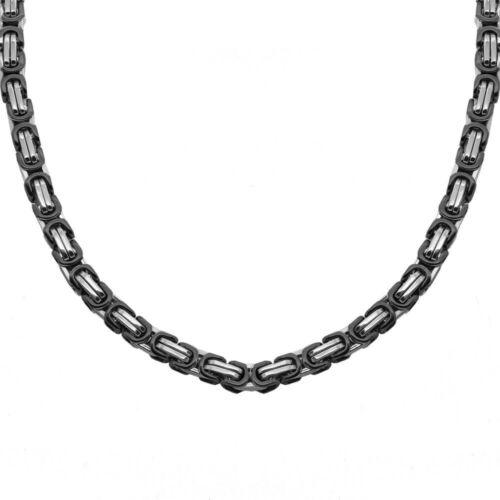 Massive rey cadena señores tanques cadena de eslabones cadena unisex pulsera de acero inoxidable