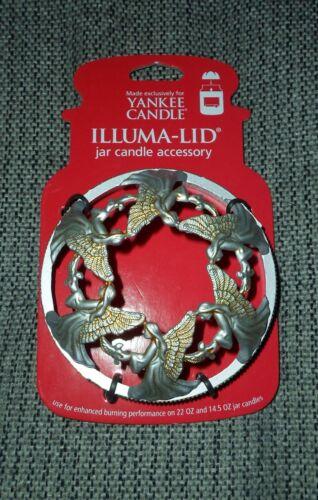 YANKEE CANDLE ILLUMA-LID Topper Jar Candle Accessory ~ ANGELS ~ NEW