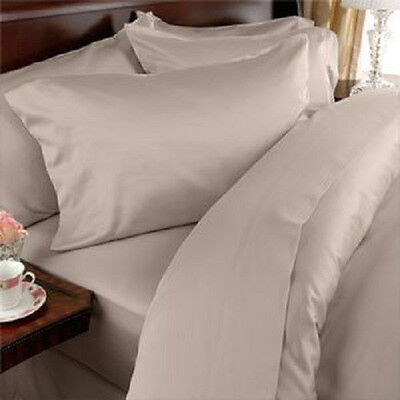 DEEP POCKET 2100 COUNT BAMBOO SERIES 6 PIECE BED SUPER SOFT SHEET SET ALL SIZES