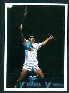 Pete-Sampras-USA-Tennis-1992-Edizioni-Panini-MINT-n-191-Rookie