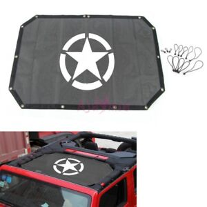 For Jeep Wrangler 2007 2017 Auto Roof Star Insulation Mesh