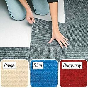 Image Is Loading L And Stick Gray Berber Carpet Tiles 12