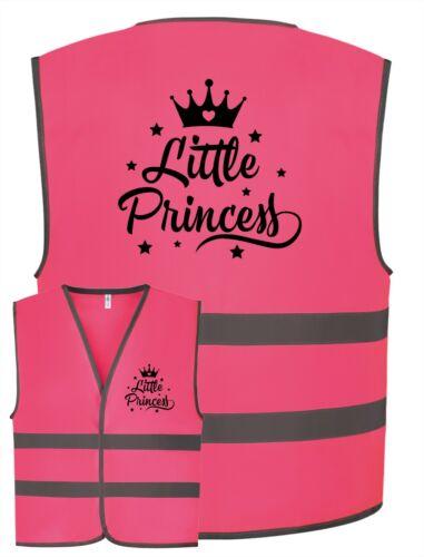 Little Princess Pink Kids Childrens Girls Boys Hi-Vis Visibility Safety Vest