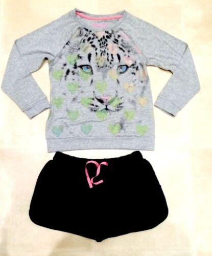 Neuf Filles Célèbre High ST Tiger pyjama Lounge Outfit Set 9-10 ans 11-12 ans