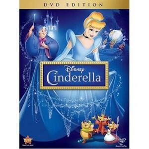 Sellado-De-Disney-Cenicienta-1950-DVD-animado-Genuino-2012-EE-UU-version-con-recompensas