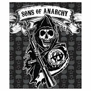 Sons Of Anarchy Fleece Plush Throw Blanket 50 Quot X 60 Quot Brand