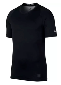 279e6ab6 Nike Pro Colorburst Men's Short Sleeve Training Top AH7989-010 Black ...