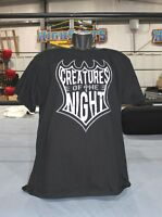 Tna Jeff Hardy creatures Of The Night B/w On Front T-shirt, Impact Hardys