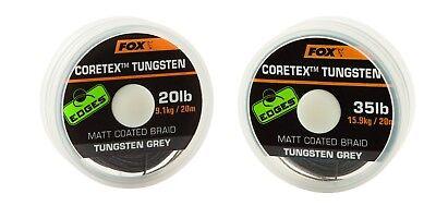 Fox Edge Matt Coretex 20m Vorfachschnur