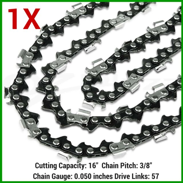 "1X Chainsaw Chain For WORX WG303E 400MM 16"" Electric Chainsaw 57DL"