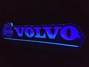 24V LED Light Neon Plate for Volvo Truck White Sign Decoration Laser Engraved
