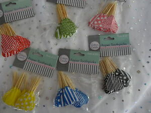 coloured-toothpicks-lolly-buffet-pink-red-blue-black-yellow-green-picks-party