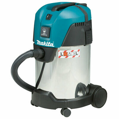 Makita VC3011L 110v Vacuum Cleaner Wet and Dry Dust Extractor 28L