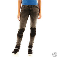 Freestyle Revolution Tie-dyed Skinny Jeans Juniors Size 1 Msrp $38.00