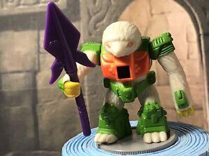 Battle-Beasts-SLOWPOKE-SLOTH-66-with-Rub-amp-Weapon-TAKARA-Hasbro