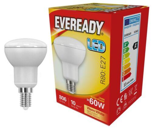 Eveready LED Spot Reflector R39 R50 R63 R80 E27 240v E14 Warm White 3000k