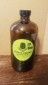 Turtle Swamp Brewing 32oz Growler Empty Beer Bottle