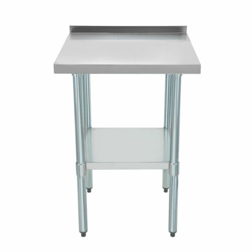 Voilamart Commercial Stainless Steel Work Bench Table Kitchen Top 610X610mm