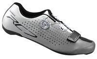 Shimano 2017 Sh-rc7 Carbon Road Bicycle Cycling Bike Shoes White - 46 (us 11.2)