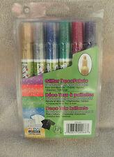 Marvy® Uchida Glitter DecoFabric Markers 6-Pack ~ NEW